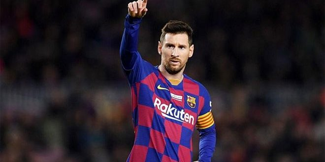 برشلونة يعلن رحيل ميسي عن صفوفه