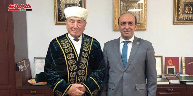 مفتي بيلاروس يؤكد رفضه لسياسات دول الغرب العدائية تجاه سورية