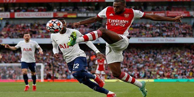 أرسنال يفوز على توتنهام بثلاثية في الدوري الإنكليزي