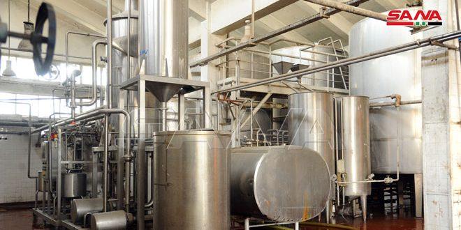 ألبان دمشق تربح 400 مليون ليرة رغم نقص العمالة وضعف توريد الحليب