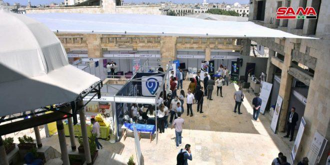 افتتاح معرض التوظيف للباحثين عن فرص العمل بحلب
