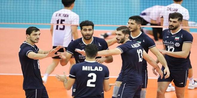 المنتخب الإيراني يحرز لقب بطولة آسيا لكرة الطائرة