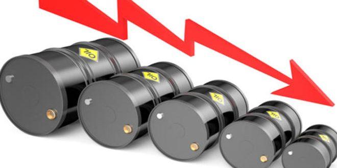 هبوط أسعار النفط نتيجة ارتفاع الدولار
