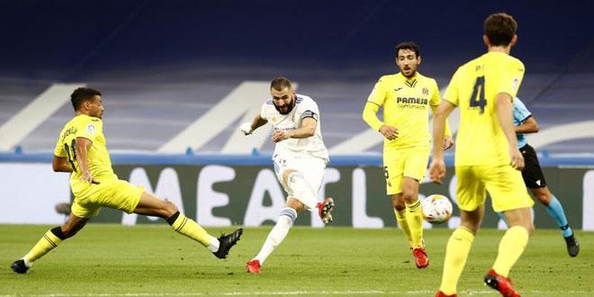 فياريال يتعادل مع ريال مدريد في الدوري الإسباني لكرة القدم