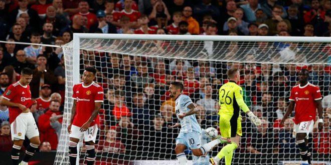 وست هام يهزم يونايتد في كأس الرابطة الإنكليزية لكرة القدم