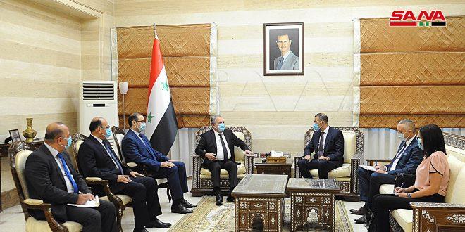 السفير الصربي للمهندس عرنوس: نرغب برفع مستوى العلاقات مع سورية