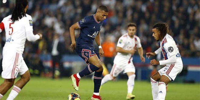 باريس سان جيرمان يفوز على ليون في الدوري الفرنسي