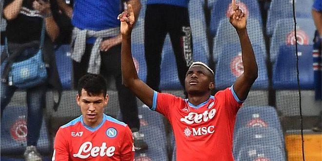 نابولي يهزم سامبدوريا برباعية في الدوري الإيطالي