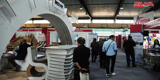 أحدث التقنيات الرقمية في معرض سورية الدولي للإعلام والإعلان والطباعة