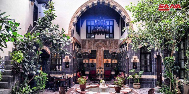 الفنادق التراثية في دمشق القديمة.. منازل تفتح أبوابها على التاريخ-فيديو