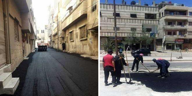 بتكلفة 281 مليون ليرة… تنفيذ مشاريع خدمية في حمص