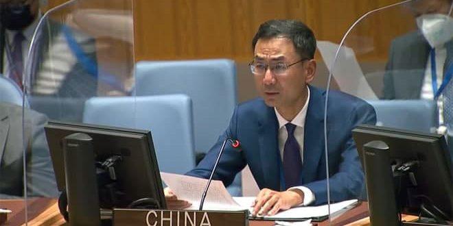 الصين تجدد دعمها سورية في محاربة الإرهاب