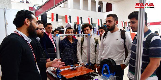 مشاريع وابتكارات تخدم التنمية في معرض الباسل للإبداع والاختراع