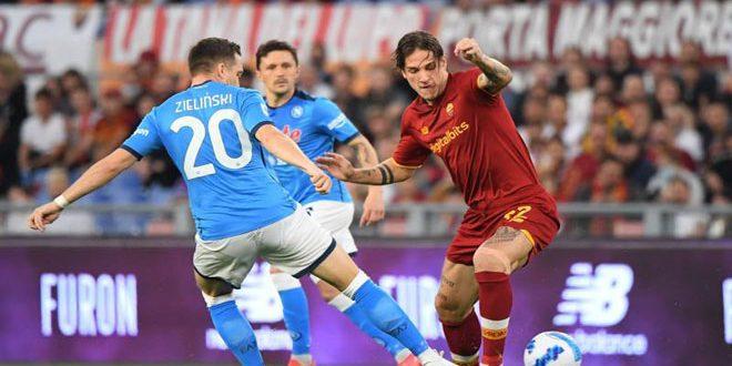 التعادل السلبي يحسم مباراة روما ونابولي
