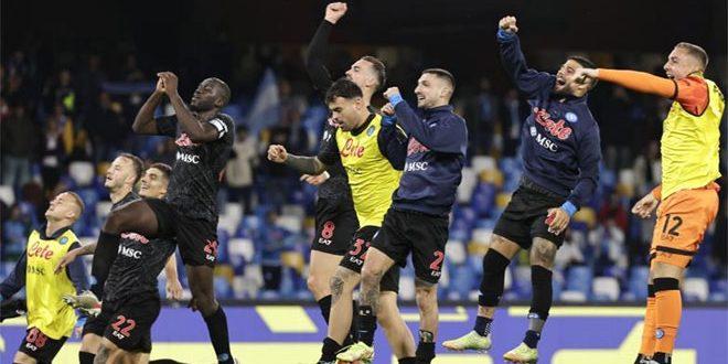 نابولي يفوز على تورينو في الدوري الإيطالي