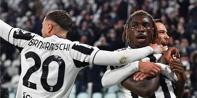 يوفنتوس يفوز على روما في الدوري الإيطالي
