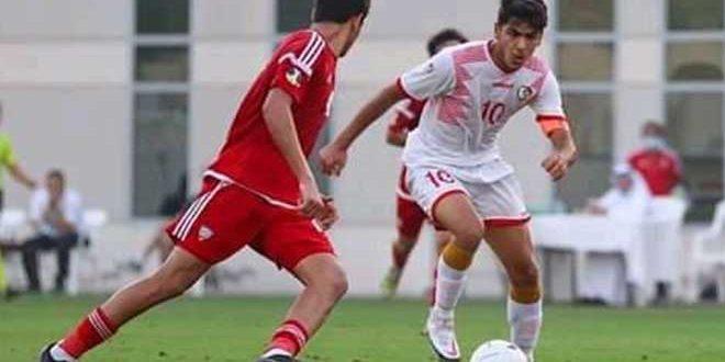 تعادل منتخب سورية للشباب مع نظيره الإماراتي ودياً
