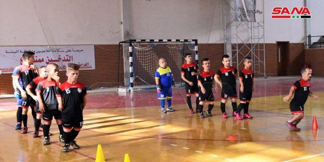 منتخب سورية لقصار القامة يشارك في البطولة العربية الأولى لكرة القدم