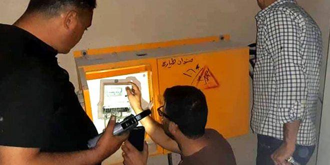 633 ضبط استجرار غير مشروع للشبكة الكهربائية في حمص