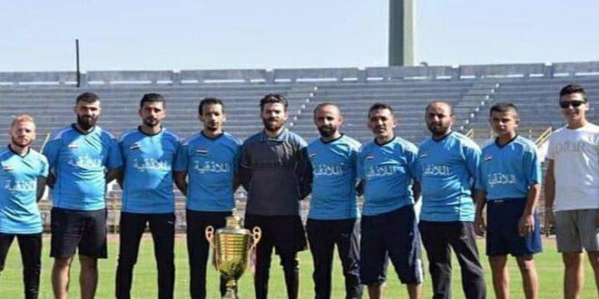 منتخب اللاذقية لكرة القدم للصم يتطلع للمشاركات الخارجية بعد تألقه محليا